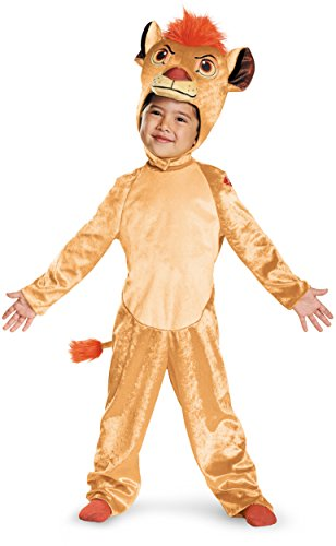 [Kion Classic Toddler The Lion Guard Disney Costume, Medium/3T-4T] (Lion King Halloween Costumes)