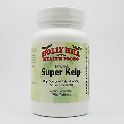 (Holly Hill Health Foods, Super Kelp 225 MCG, 250 Tablets )