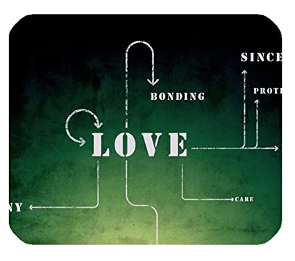 Amazon What Is The Meaning Of Love Quotes Rectangle Mousepad Unique The Meaning Of Love Quotes