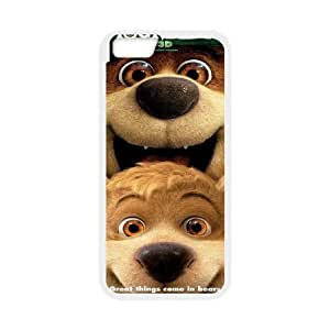 Steve-Brady Phone case Yogi Bear Protective Case For Apple Iphone 6 Plus 5.5 inch screen Cases Pattern-13 by mcsharks