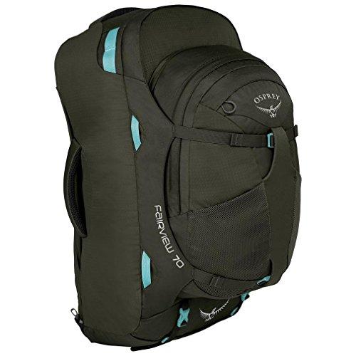 Osprey Packs Fairview 70 Womens Travel Backpack, Misty Grey, Small/Medium