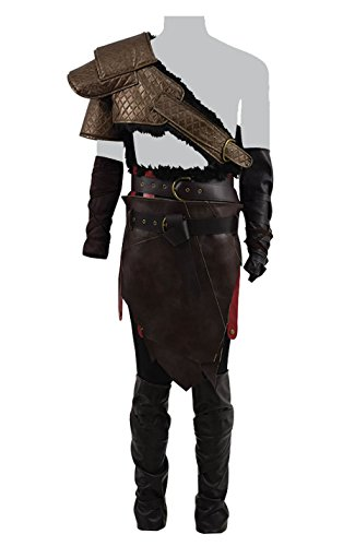 Hot Game War Spartan God 4 Costume Father Krato and Son Atreu Costume (Father, US Men-XL)