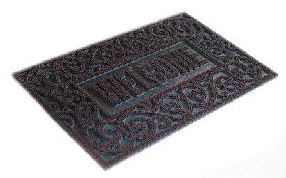 (Iron Gate - Rubber Stud Welcome Doormat - Outdoor Mat 18