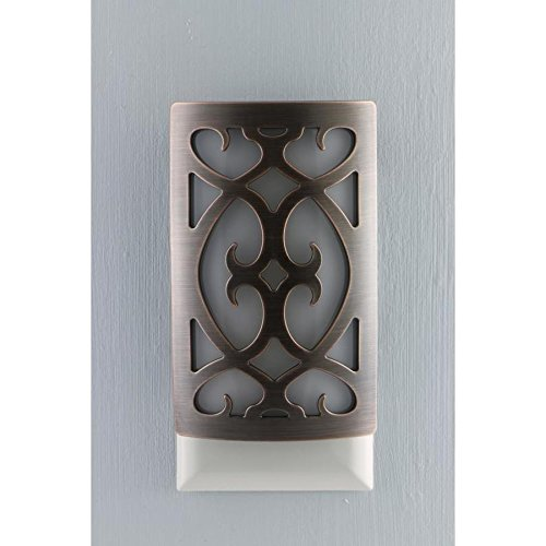 Allen + Roth LED Night Light Dark Oil-Rubbed Bronze Finish