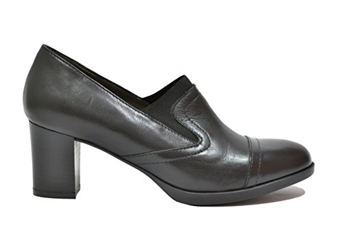 Melluso Decolte' scarpe donna nero plantare estraibile X5602