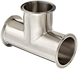 Dixon B7MP-R300 Stainless Steel 316L Sanitary Fitting, Clamp Tee, 3\
