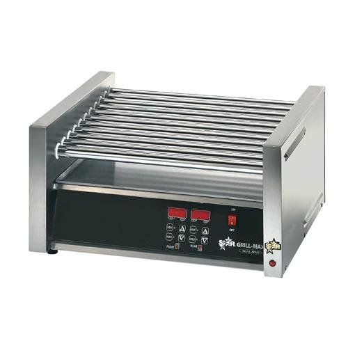 Star Mfg Grill-Max Elec 50-Hot Dog Duratec Roller Grill