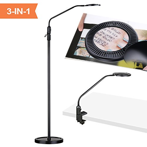 Aglaia Floor Lamp, Desk Lamp, 3 in 1 Craft Floo...
