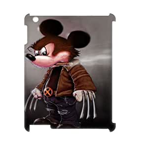 R-N-G8090743 3D Art Print Design Phone Back Case Customized Hard Shell Protection Ipad2,3,4
