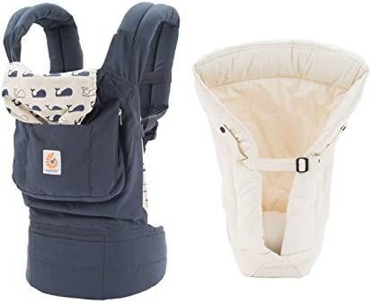 new style 64eac 23045 Amazon.com   Ergobaby Original Baby Carrier (Marine + Natural Insert, One  Size)   Baby