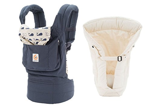 Ergobaby Original Baby Carrier Marine Natural Insert, One Size