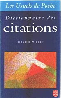 Dictionnaire des citations par Millet