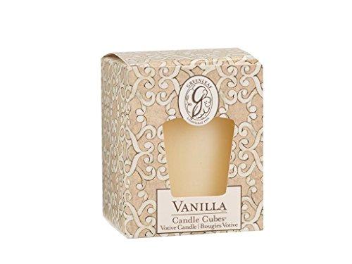 - GREENLEAF Candle Cube Votive Vanilla