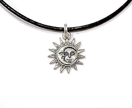 collier lune et collier soleil