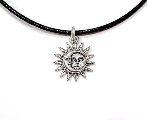 Sun Moon Face Celestial Sol Luna Choker