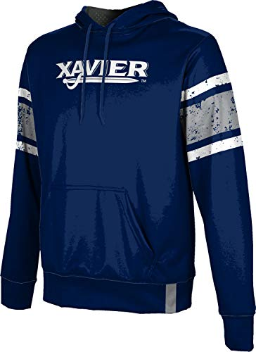 ProSphere Xavier University Men's Pullover Hoodie - End Zone FF2C - Fabric Xavier University Fleece
