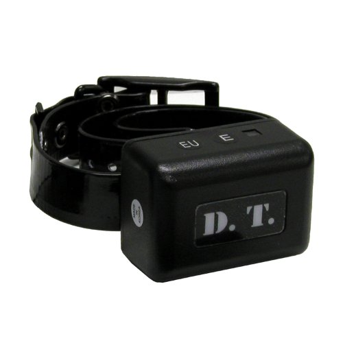 DT Systems Add-On or Replacement Dog Training Collar Receiver, Black