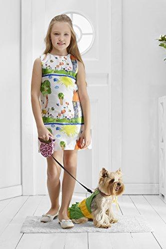 [Toy Dog Apron Dress for Yorkie Pom Chihuahua Papillon Lhasa Apso Mini Dachshund (Medium Toy Size, green,] (Mini Dachshund Halloween Costumes)