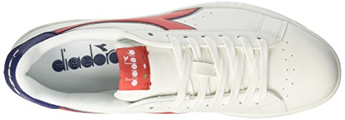 Estate Bco P Bianco Diadora Game Uomo Sneaker Carmineblu Rosso wF8OTAqc