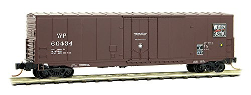 Used, 50' Plugdoor Boxcar Ready to Run -- Western Pacific for sale  Delivered anywhere in USA
