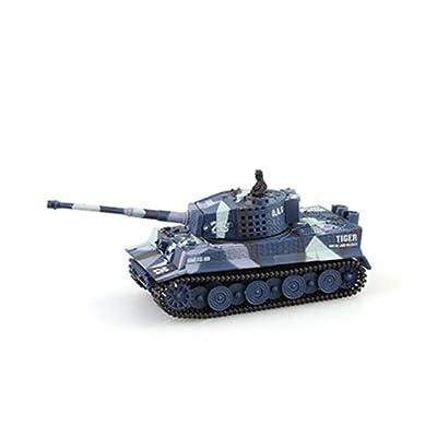 1:72 Mini Tank Char Assaut Véhicule RC Télécommande Jouet Miniature Enfant