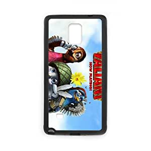 Valiant Samsung Galaxy Note 4 Cell Phone Case Black Qsgpi