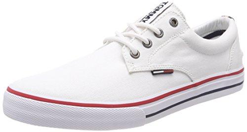 65eb570372937b Hilfiger Denim Men s Tommy Jeans Textile Low-Top Sneakers - Buy Online in  Oman.