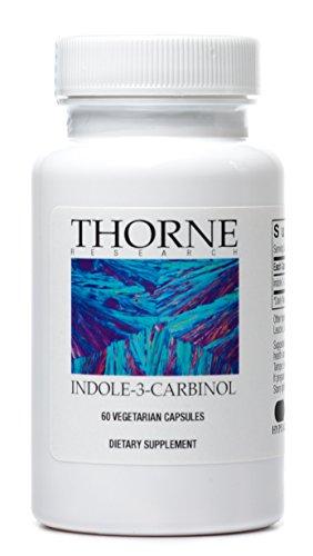 Thorne Research - Indole-3-Carbinol - Dietary Supplement to Support Estrogen Metabolism - 60 Capsules