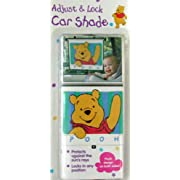 Disney Winnie The Pooh Waving Hand Car Window Sunshade