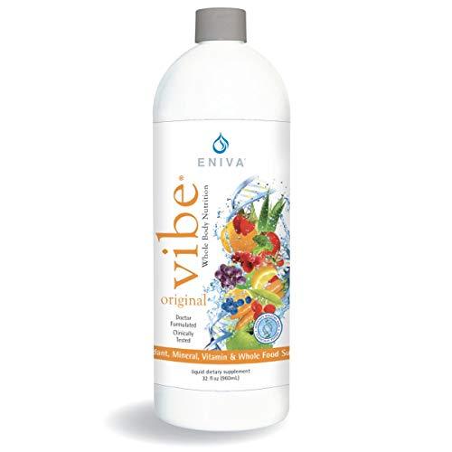 Liquid Vitamins and Minerals | Dr. Formulated for Maximum Absorption | Eniva Vibe Original (32 oz)