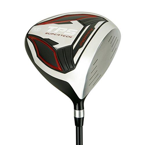 PowerBilt Golf TPS Supertech 10.5 Degrees Offset Driver, Black/Red, Right Hand by PowerBilt