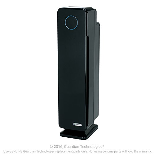 GermGuardian AC5350B Elite 4-in-1 Air Purifier with True HEPA Filter, UV-C Sanitizer, Captures Allergens, Smoke, Odors, Mold, Dust, Germs, Pets, Smokers, 28-Inch Germ Guardian Air Purifier by Guardian Technologies (Image #2)