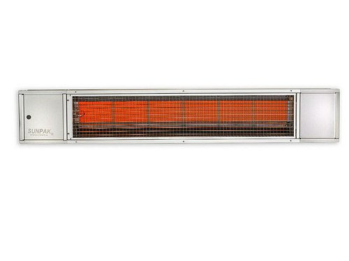 Sunpak S25 SST Infrared S25 Natural Gas Outdoor Patio Heater, Commercial Grade Stainless Steel Alfresco Infrared Grill