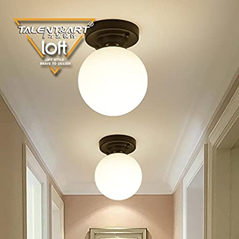Yposion American Ceiling Light Simple Continental Living Room