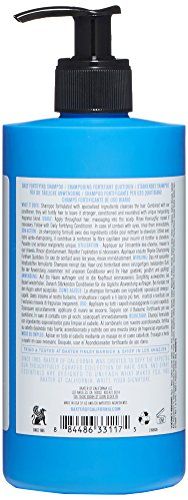 Baxter of California Men's Daily Fortifying Shampoo for All Hair Types, Cleanses and Strengthens, Fresh Mint Scent,16 oz