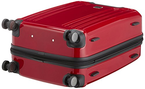 65 Capital Cm berg Suitcase Negro Rojo X Trolley nXHF1qX