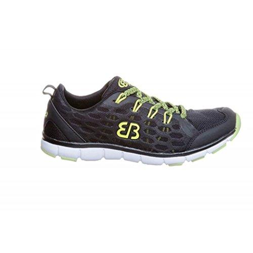 Bruetting - Zapatillas para deportes de exterior de Material Sintético para mujer Negro negro