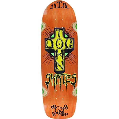 Dogtown Skateboards Pool Big Boy Orange Old School Skateboard Deck - 9.37