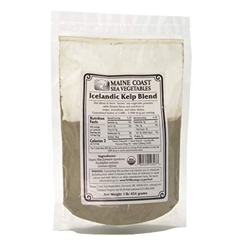 "Kelp Powder ""Icelandic Kelp Blend""   1 Pound   Organic Seaweed Powder   Maine Coast Sea Vegetables"