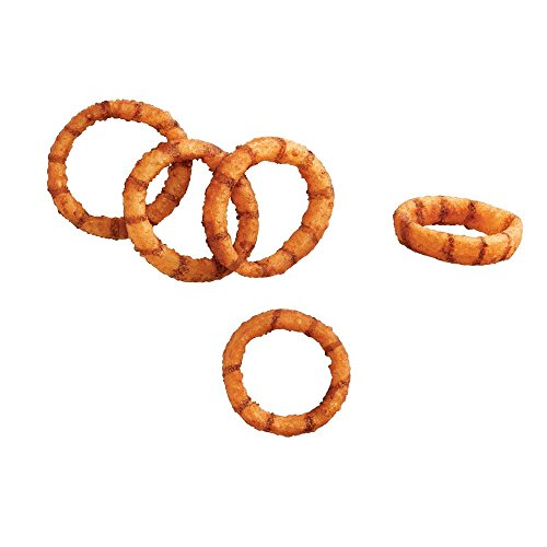 McCain Brew City Beer Battered Black and Tan Onion Ring, 2 Pound -- 6 per case.
