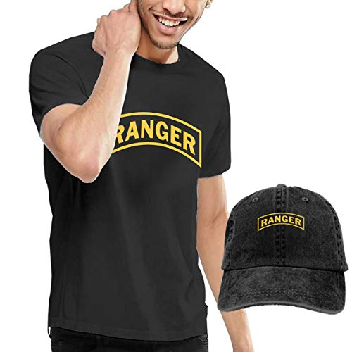 (United States Army Rangers Shirt,Jeans Caps,Short Sleeve Shirt,Cotton Tshirt for Men's)
