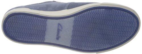 Clarks Torbay Lace 203576137 - Zapatillas de cuero para hombre, color azul, talla 39.5
