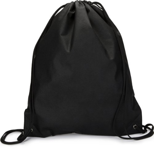 Liberty Bags Non-Woven Drawstring Backpack (BLACK) (ALL) ()