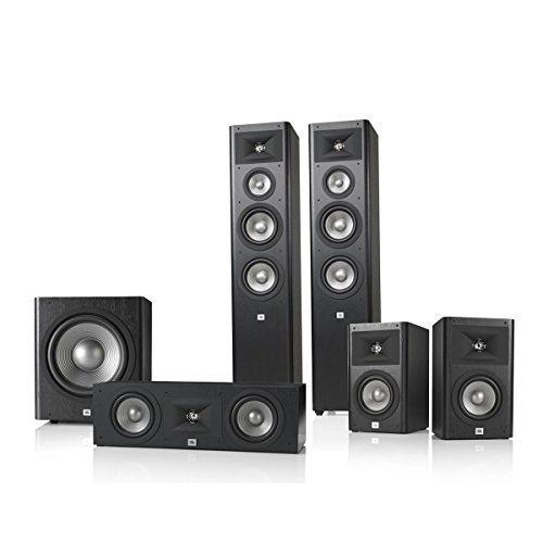 JBL Studio 280 5.1 Home Theater Speaker System Pac...