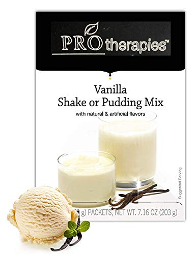 High Protein Pudding Mix - Vanilla Low-Carb Instant Diet Pudding Mix, Low Calorie Weight Loss Shake/Pudding, 7 - Shake Pudding Mix