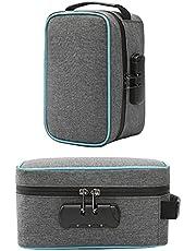 Geurbestendige tas met cijferslot, geurdichte opbergtas, geurbestendige tas met slot, geurdichte tas met geurabsorberende actieve kool binnenvoering