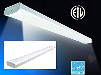 Ceiling LED Light fixture 48 inch 4 ft 48W (250W, 300W), Certified ...
