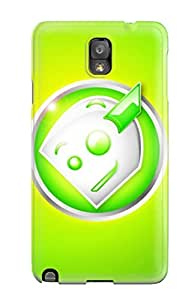 Hot New Awkward Robot Tpu Case Cover, Anti-scratch Phone Case For Galaxy Note 3
