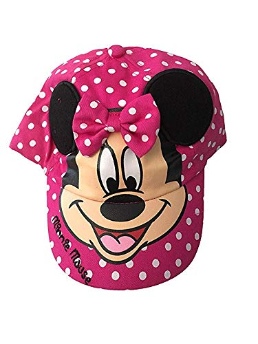 Disney Minnie Mouse Girls Pink Polka Dot with -