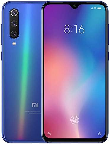 "Xiaomi Mi 9 (128GB, 6GB RAM) 6.39"" OLED Display, 48MP Camera, Snapdragon 855, Factory Unlocked GSM Smartphone (Global 4G LTE Version) (Ocean Blue) WeeklyReviewer"